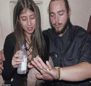 Post Malone girlfriend: Ashlen Diaz